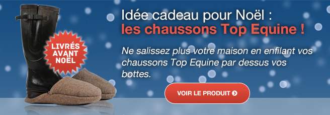 Idee cadeau Chausson Top Equine